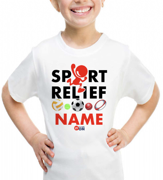 Kids Sports Relief T-Shirt